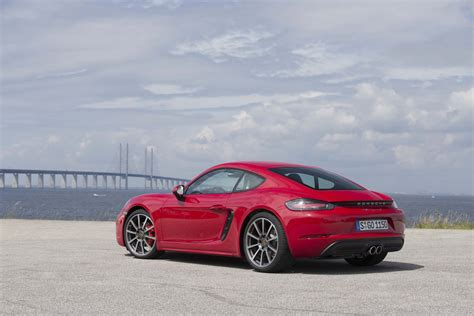 porsche red 2017 2017 porsche 718 cayman reviews and rating motor trend