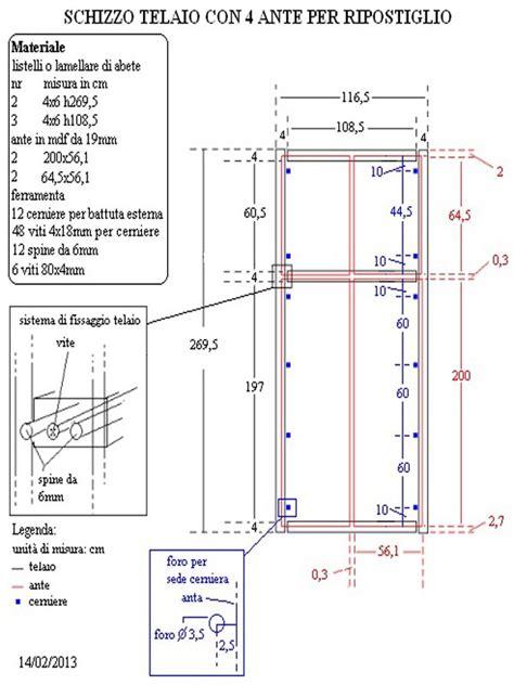 costruire un armadio in legno dugdix come costruire un armadio a muro