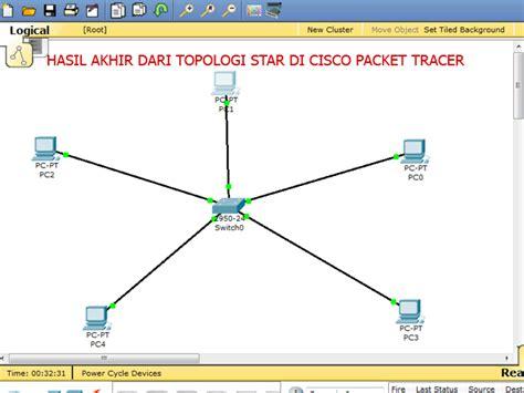 cara membuat jaringan lan topologi star cara membuat topologi star tio rizky anardi blogspot