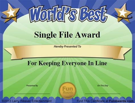 25 best ideas about funny certificates on pinterest