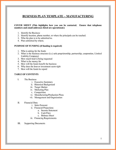 9 film production company business plan template
