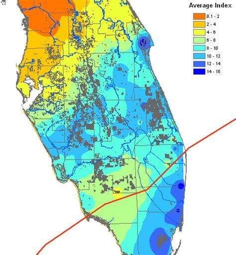 hurricane map florida post hurricane analysis of citrus canker ii predictive
