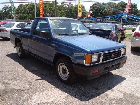 1994 Mitsubishi Mighty Max Pickup Information And Photos