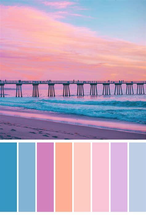 sunset color scheme sunset color pallet color palette sunset color
