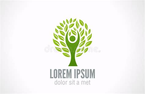 Ecology Concept Eco Green Tree Logo Template Stock Vector Illustration Of Idea Logo 31657461 Ecology Green Icons Tree With Logo Vector Stock Vector Image 51156431