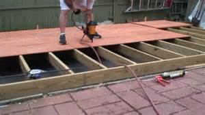 build a floor building a shed part 2 floor joist framing youtube