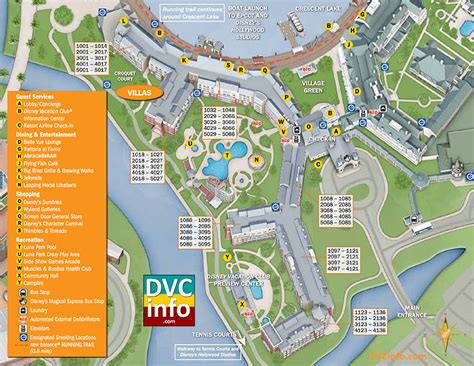 club villas room map disney s boardwalk villas dvcinfo