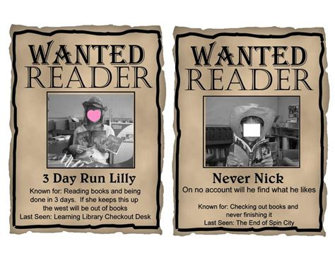 Free Printables Editable Western Quot Wanted Quot Theme Posters In Powerpoint So You Can Upload Your Wanted Poster Powerpoint