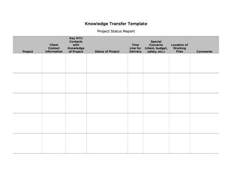 transition report template 40 transition plan templates career individual