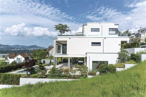 haus hanglage modern herrlich fertighaus modern flachdach modernes designhaus