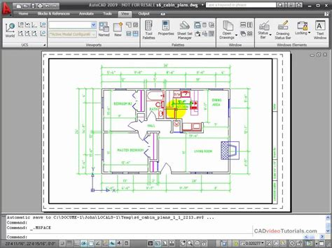 layout autocad viewport autocad tutorial working with layouts part 2 youtube