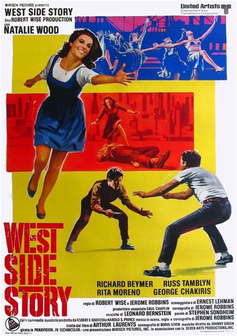 West Side Story 1961 Review And Trailer by Posters West Side Story 1961 F I L M S