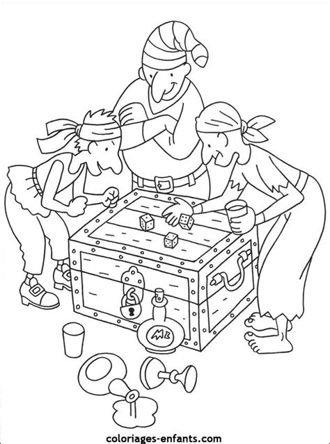 Les Coloriages De Pirates Thema Piraten Kleuters Theme Pirate Themed Coloring Pages