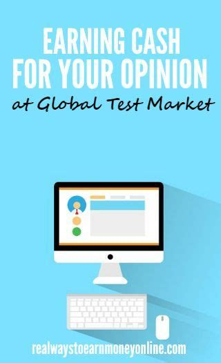 Paid To Answer Surveys - getting paid to take surveys for global test market
