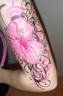Tattoo Hibiscus Arm | hibiscus arm tattoo closer by jennikatt on deviantart
