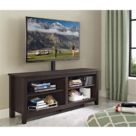 60 inch tv walker edison essential 60 inch tv stand with mount