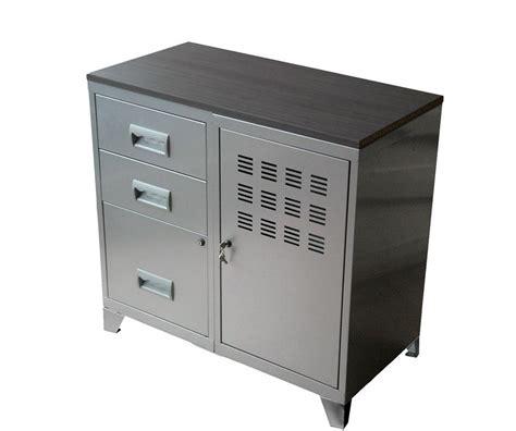 armoire tiroir armoire 1 porte et 2 tiroirs henry l800xprof