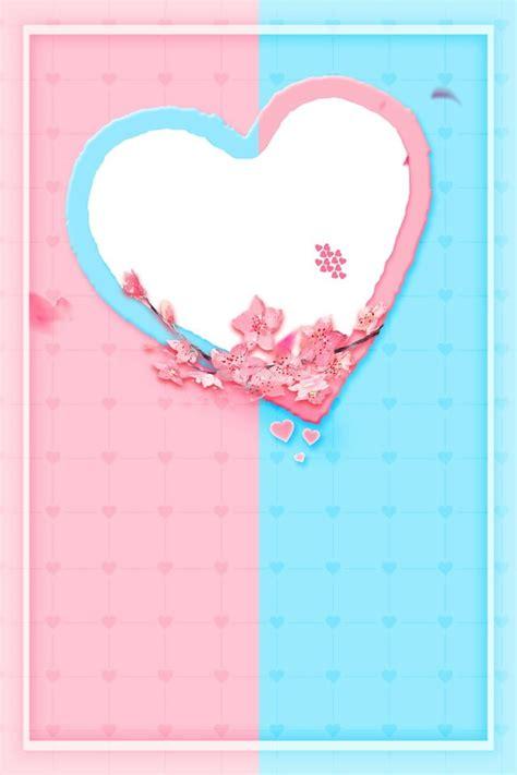 love letter design series background poster material love