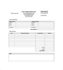 Generic Invoice Template Free generic invoice template 8 free sle exle format