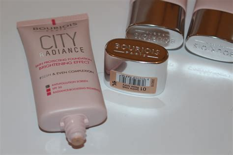 Bourjois City Radience Foundation bourjois city radiance foundation review swatches