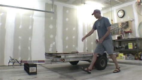trailer garage garage trailer lift storage