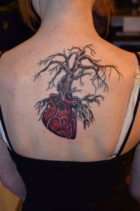 eternal life tattoo birds chest tree tattoos pictures www picturesboss