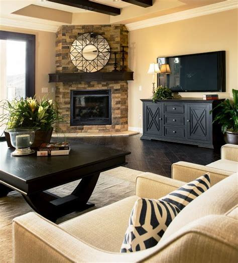 corner fireplace living room fireplace decorating ideas for mantel and above founterior