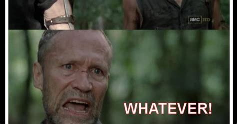 T Dogg Walking Dead Meme - deadshed productions derle merle carl t dog the