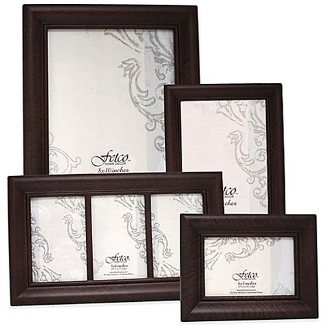 fetco home decor frames fetco home decor wood photo frames in espresso bedbathandbeyond com