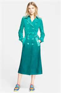 Amel Belt 2 by Amal Clooney Belts Up In 163 4200 Green Ombre Trench Coat