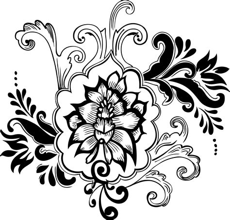 Design Decorative by Free Floral Decorative Pack Free Vector 4vector