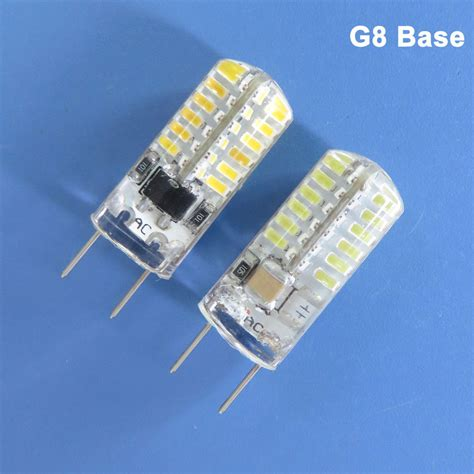 G8 Led Light Bulbs 1x 10x 2w 120v G8 Bi Pin Base Led Light Bulb 48 3014 Smd