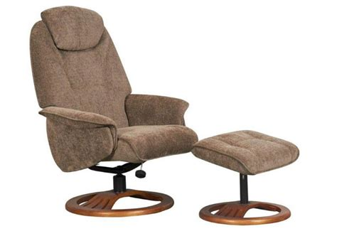 fabric swivel chairs gfa oslo fabric fully adjustable swivel recliner chair