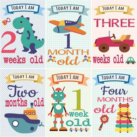 Baby Month Card Template by 17 Best Images About Milestone Card Baby On