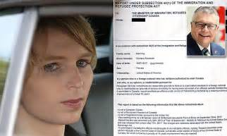 How To Get Into Canada With A Criminal Record Chelsea Manning Claims She Was Denied Entry Into Canada