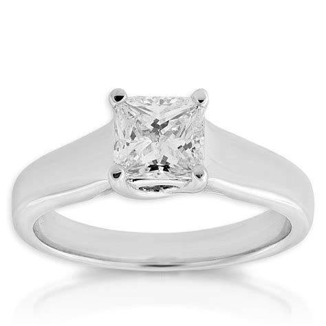 princess cut rings canada wedding promise