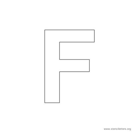 letter f template best photos of uppercase letter f printables printable