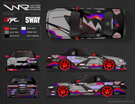 drift car graphics  chris suan  coroflotcom