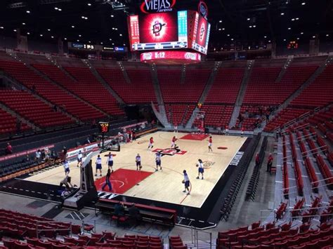 3s Bowl 2l viejas arena section b row 16 home of san diego state