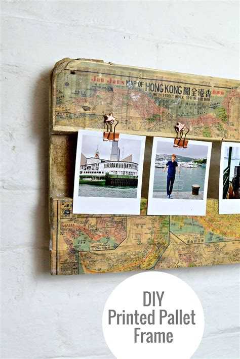 map picture frame how to make a stunning printed map picture frame pillar
