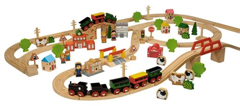 brio wooden train set children s wooden toys toy play kitchen furniture