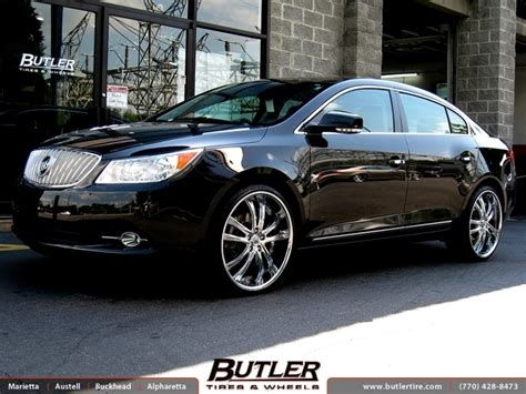2011 buick lacrosse tire size buick lacrosse with 22in lexani lss55 wheels exclusively