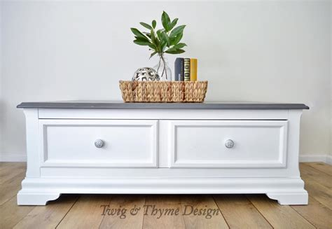 design milk coffee table coffee table in snow white milk paint general finishes