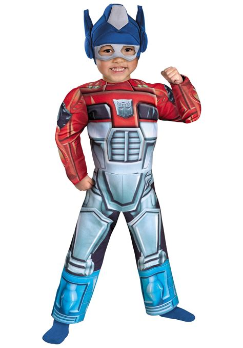toddler optimus prime rescue bot costume transformer