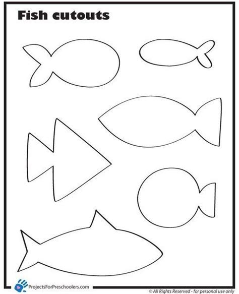 moldes de peces facilisimocom moldes de peces de fieltro 5 pinterest