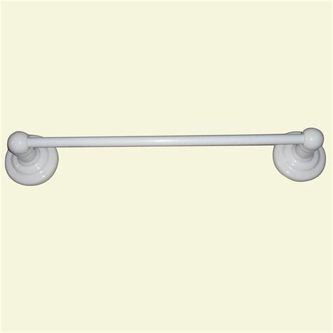 Design Ideas For Ceramic Towel Bar Glacier Bay 24 In Towel Bar In White Ceramic Ba00007