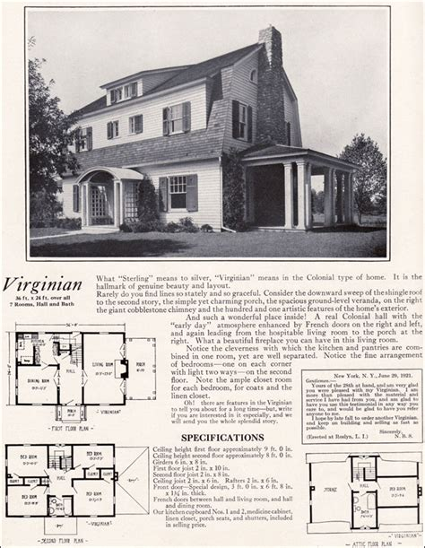 Dutch Colonial Style House by 1922 Virginian By Bennett Homes Dutch Colonial Revival Style Vintage Residential