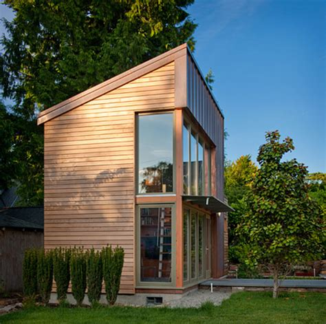 Small House In Backyard by Garden Pavilion Tiny House