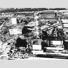 Nuclear Power Plant Explosion In Chernobyl Russia