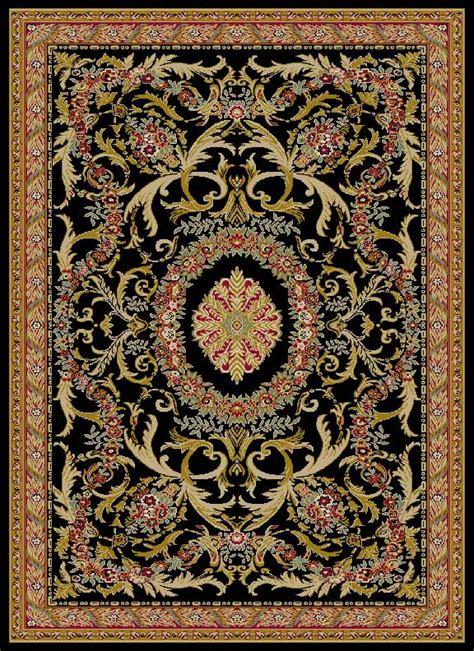 tuscany rugs tuscany t6563 black rug